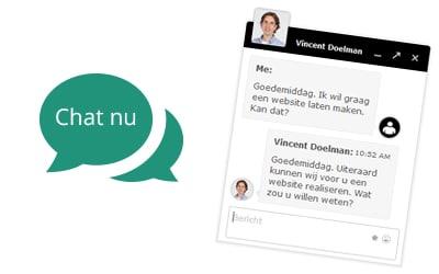Chat met SiteToGo