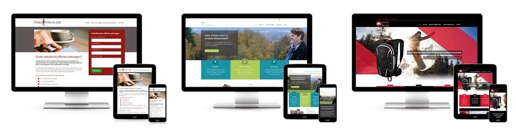 SiteToGo website voorbeelden